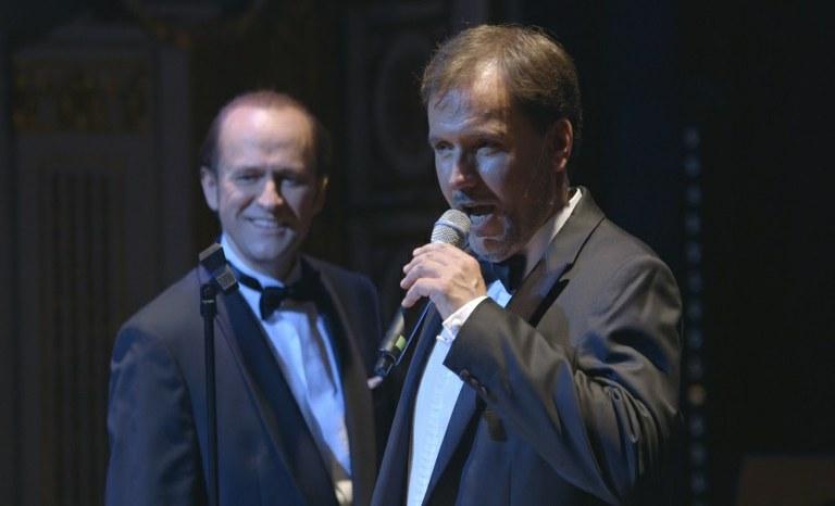 Reinwald Kranner und Sebastian Reinthaller