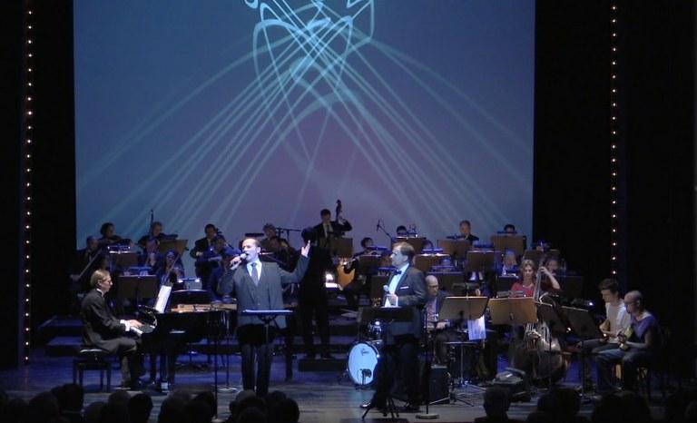Reinwald Kranner, Sebastian Reinthaller und Pavel Singer am Klavier