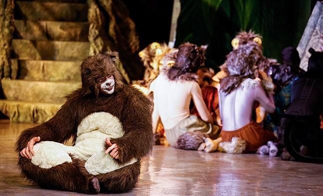 Den gutmütigen Bären Baloo bringt so schnell nichts aus der Ruhe
