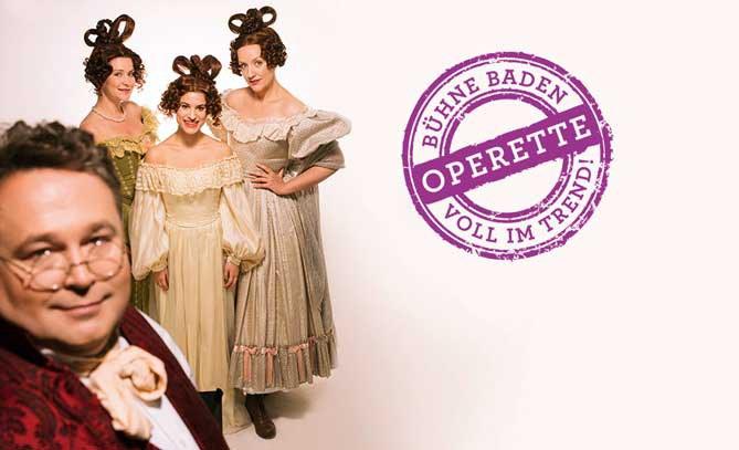 Operetten-Klassiker mit Christiane Marie Riedl, Juliette Khalil, Katharina Dorian und Jörg Schneider © Lukas Beck