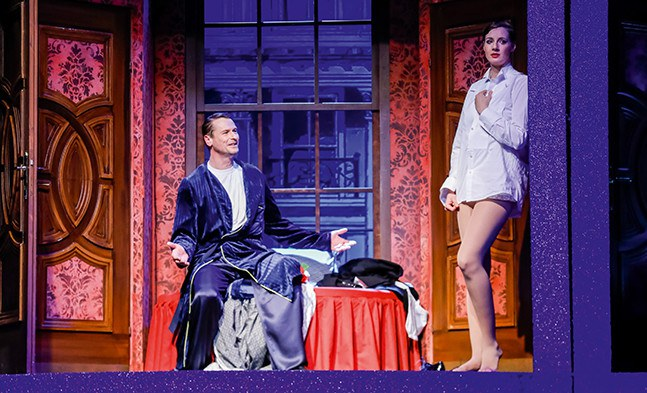 Wie jetzt? King Marchan (Matthias Kostya) und Victor/Victoria (Bettina Mönch).