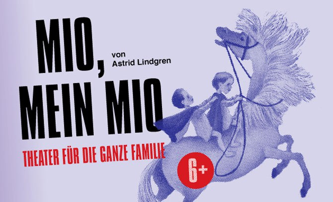 """Astrid Lindgrens """"Mio, mein Mio"""" bietet Unterhaltung für die ganze Famile ab sechs Jahren. Ein Gastspiel des Landestheaters Niederösterreich an der Bühne Baden. © Bühne Baden"""