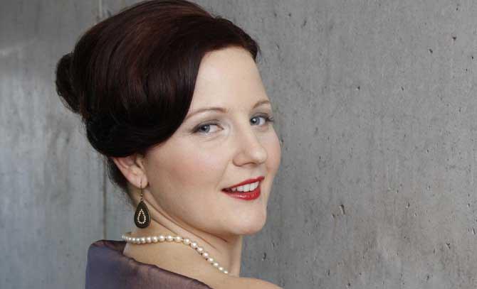 Die Sopranistin Regina Riel. © Elisabeth Grebe