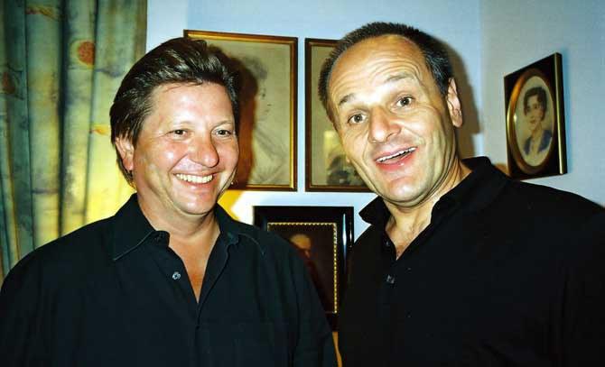Benno Schollum und Stephan Paryla-Raky präsentieren Wilhelm Busch in Wort und Ton. © Eleanor Hope
