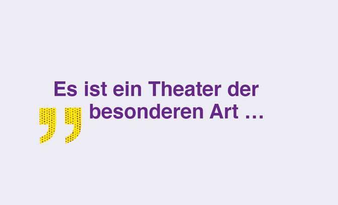 Mit einem Theater der besonderen Art von Árpád Schilling gastiert das Landestheater Niederösterreich an der Bühne Baden. © Landestheater Niederösterreich