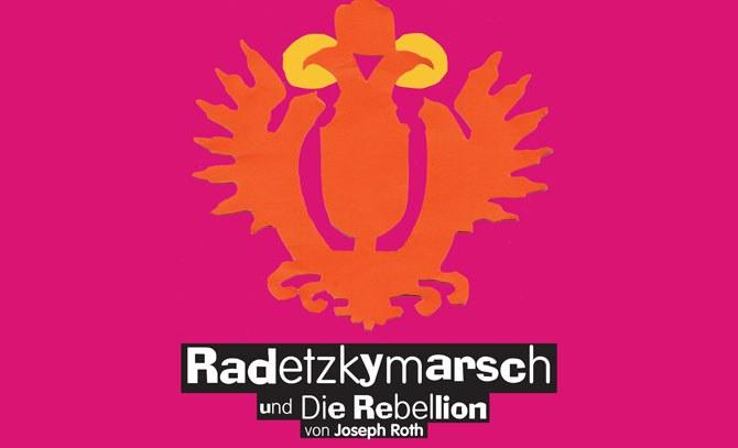 Gastspiel des Landestheaters Niederösterreich: Radetzkymarsch und Die Rebellion von Joseph Roth in einer Fassung für das Landestheater NÖ von Philipp Hauß. © Bühne Baden
