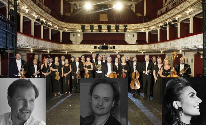 Das Orchester der Bühne Baden eröffnet die Sommersaison 2015 mit Werken von Gustav Mahler. © Bühne Baden