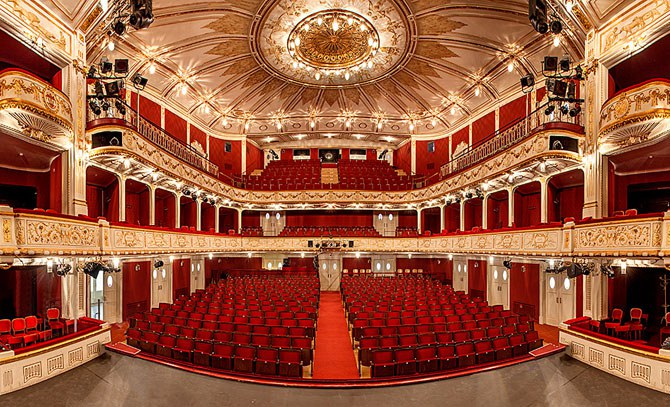 Das Galakonzert des Internationalen Heinrich Strecker Gesangswettbewerbs findet im Stadttheater der Bühne Baden statt. © Bühne Baden