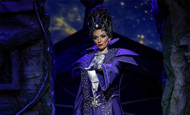 Furchteinflößend: die Königin der Nacht (Katharina Melnikova)