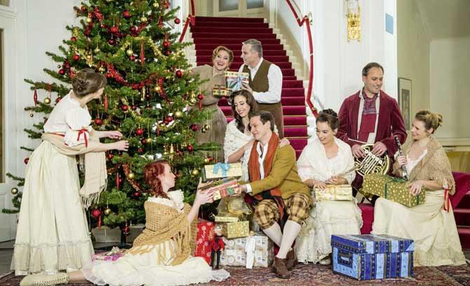 Weihnachtliche Stimmung beim großen Weihnachtskonzert an der Bühne Baden.  © Bühne Baden